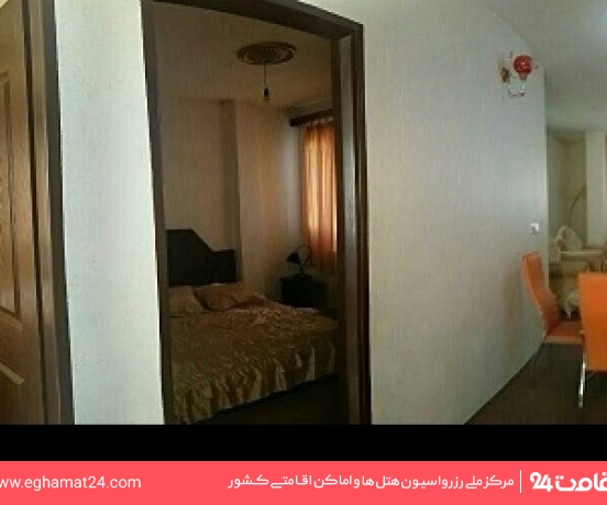 آپارتمان دو خوابه شش نفره
