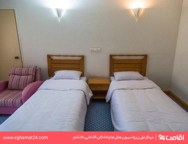 اتاق دو تخته هتل یک