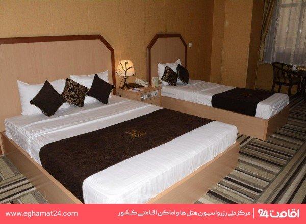اتاق سه نفره (یک تخته+یک سرویس اضافه)