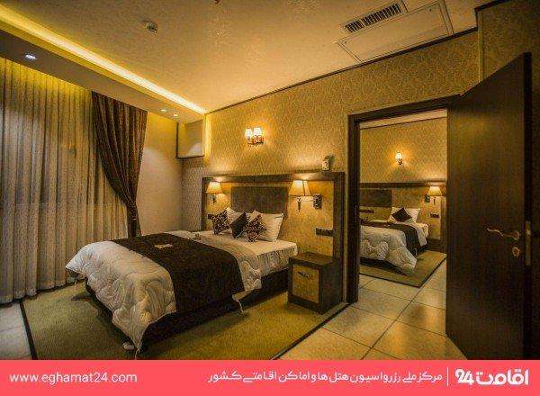 اتاق دو تخته برای یک نفر
