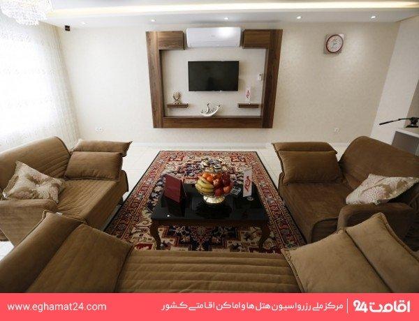 سوئیت یکخوابه پنج نفره VIP(دو تخته+سه سرویس اضافه)