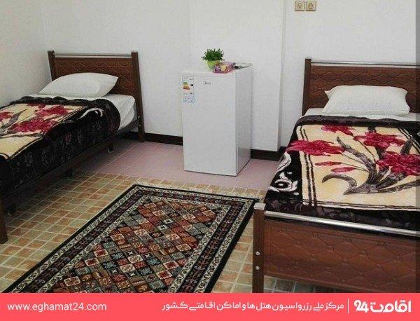 اتاق دو تخته توئین (بدون سرویس)