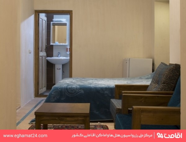 اتاق دو تخته سرویس دار