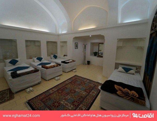 اتاق چهار تخته بدون سرویس