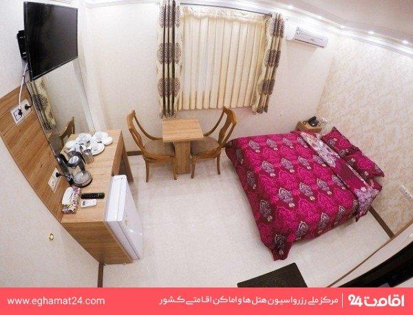 اتاق دو تخته دبل بدون آشپزخانه