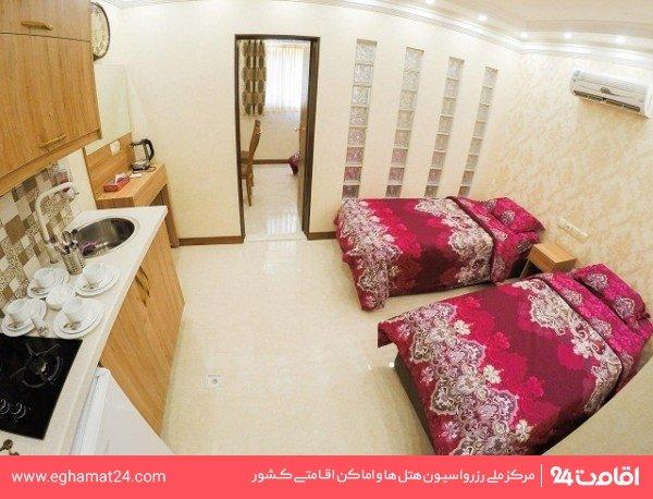 اتاق دو تخته توئین با آشپزخانه