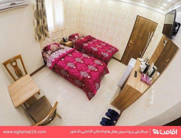 اتاق دو تخته توئین بدون آشپزخانه