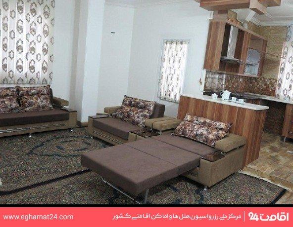 آپارتمان یکخوابه چهار نفره (دو تخته + دو سرویس اضافه)