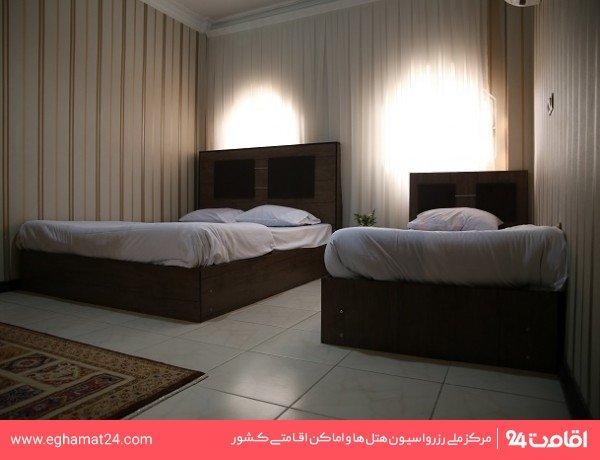 آپارتمان دو خوابه سه نفره