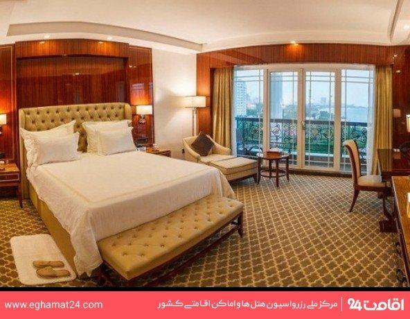اتاق دو تخته استاندارد رو به دریا