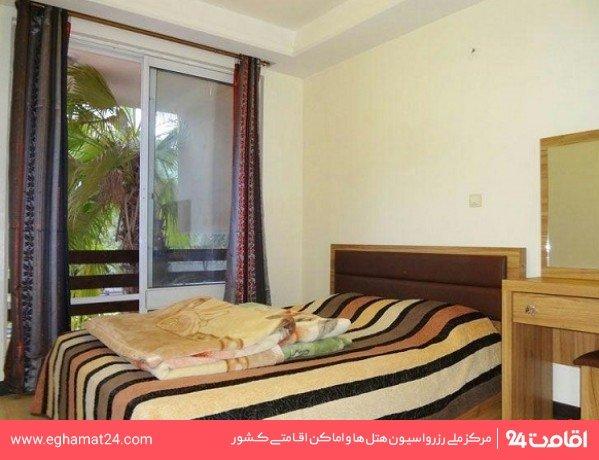 آپارتمان یکخوابه سه نفره ( یک تخت دو نفره + یک سرویس اضافه )