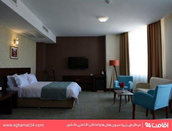 اتاق دو تخته VIP رو به دریا