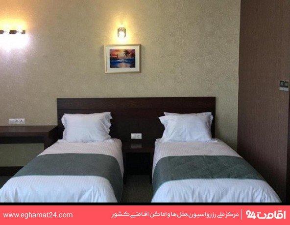 اتاق دو تخته رو به جزیره