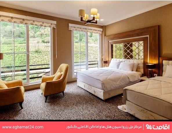 اتاق دو تخته توئین رویال رو به کوه