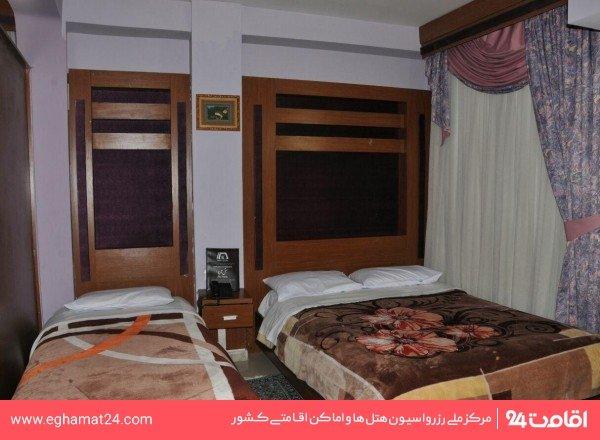 اتاق سه تخته فولبرد(اتاق دوتخته+سرویس اضافه)