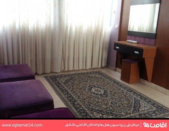 اتاق پنج تخته فولبرد(اتاق دوتخته+سه سرویس اضافه)