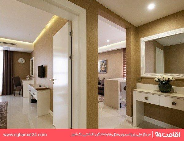 اتاق سه نفره ویژه (دو تخته +سرویس اضافه)
