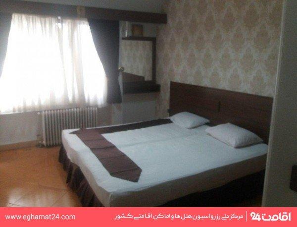 آپارتمان یکخوابه سه نفره(یک تخت دو نفره+سرویس اضافه)