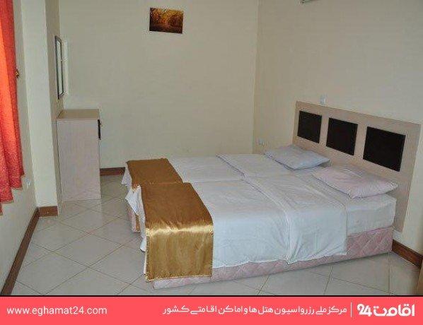 آپارتمان یکخوابه سه نفره(آپارتمان دونفره+سرویس اضافه)