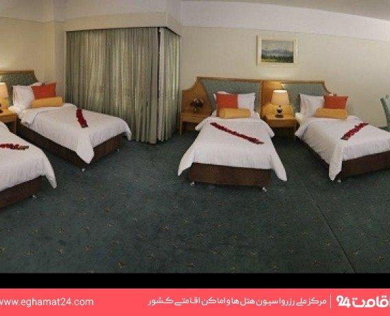 اتاق چهار تخته امپریال طبقه اول(سرویس ایرانی-طبقه صبحانه خوری)