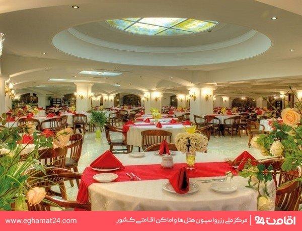 رستوران پنج قاره زوشا