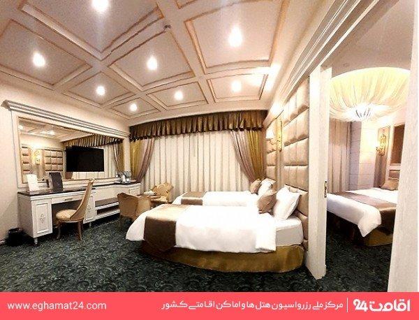 اتاق دو تخته توئین استاندارد هافبرد