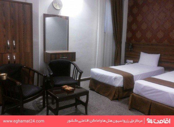 اتاق دو تخته فولبرد