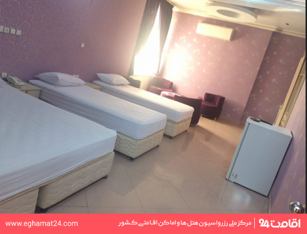اتاق سه تخته معمولی