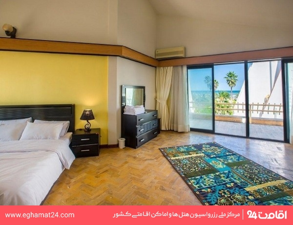 آپارتمان فلت یکخوابه دو نفره رو به دریا