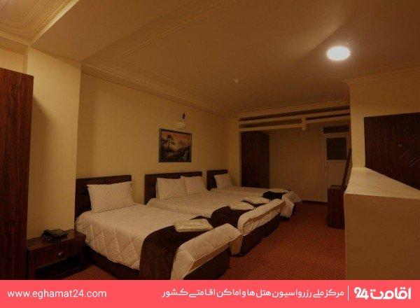 اتاق چهار تخته بزرگ