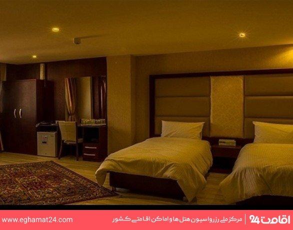 اتاق سه تخته (دوتخته+یک سرویس اضافه)