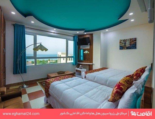 اتاق سه تخته دریا