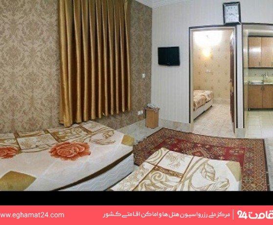 آپارتمان یکخوابه چهارنفره