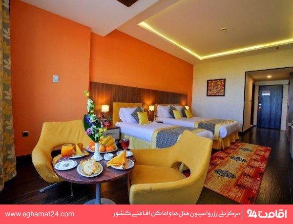 اتاق سه تخته هتل جدید
