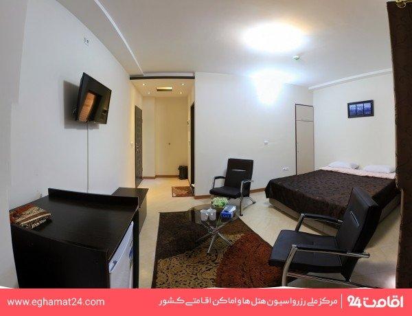 آپارتمان یکخوابه چهار نفره