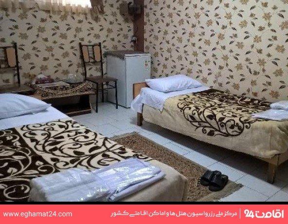 اتاق دو تخته توئین (فاقد سرویس بهداشتی و حمام)