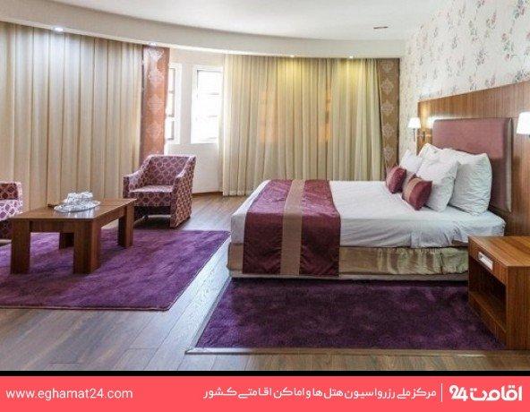 اتاق دو تخته ساعتی بدون صبحانه(8صبح تا 8شب)