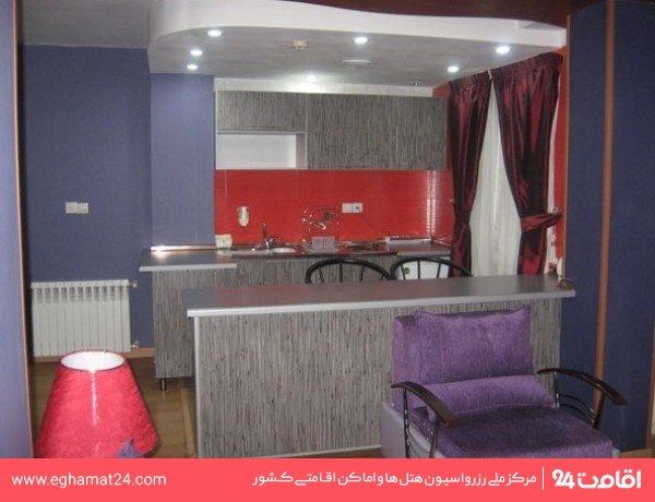 آپارتمان یکخوابه پنج نفره(چهار تخته+سرویس اضافه)