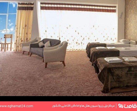 اتاق دو خوابه شش تخته