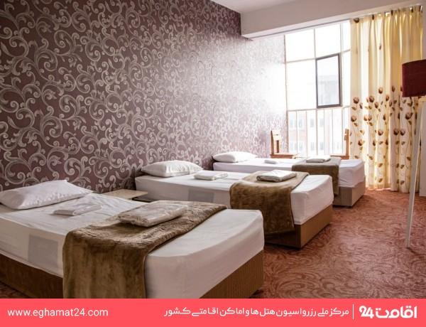 اتاق دو خوابه چهار تخته