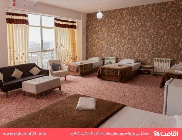 اتاق دو خوابه پنج تخته