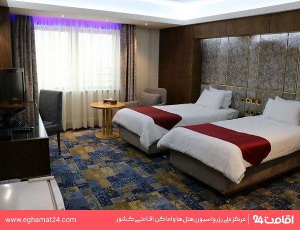 اتاق دو تخته توئین (رو به کوه)