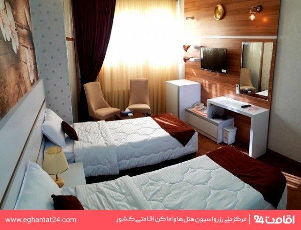 اتاق دو تخته توئین لوکس