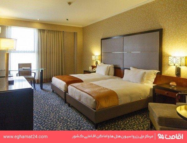 اتاق دو تخته استاندارد توئین(طبقات 3 تا 10)