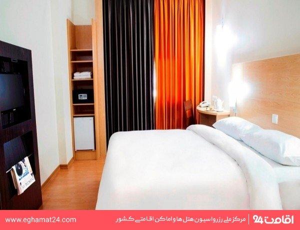 اتاق دو تخته اقامت کوتاه مدت با خدمات VIP(3 تا 5 ساعت)