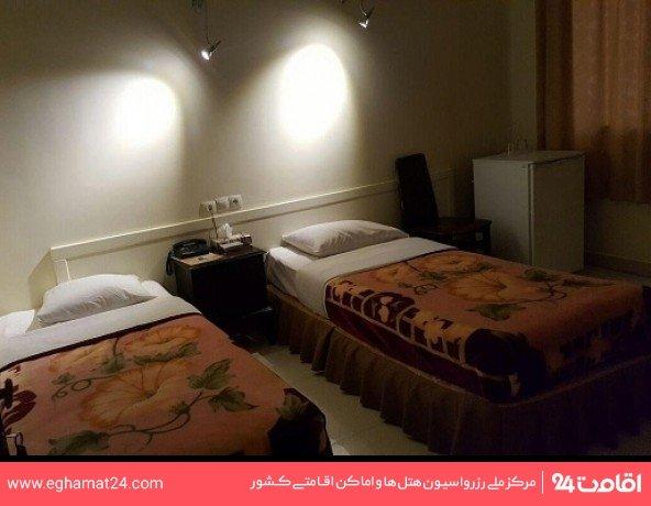 اتاق دو تخته بدون سرویس