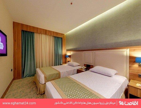 اتاق دو تخته (پکیج شب رایگان آخر هفته)