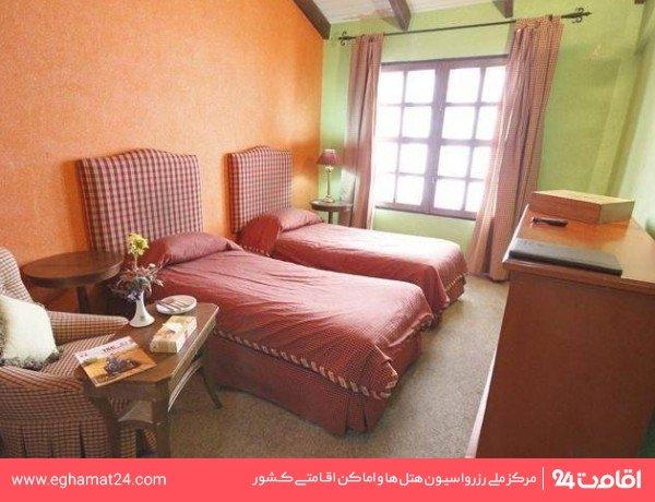 اتاق دو تخته با منظره