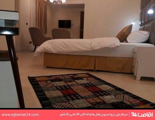 آپارتمان یکخوابه سه نفره(دو تخته +سرویس اضافه)