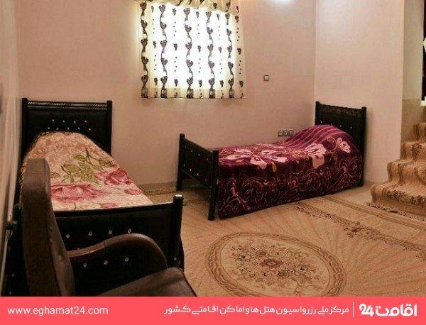 اتاق دو تخته توئین(فاقد حمام و سرویس بهداشتی)